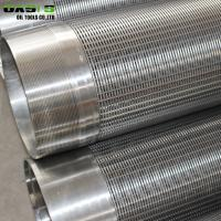 Quality Johnson Type Metal Water Well Screen Pipe Round Hole Shape 5800mm Length for sale