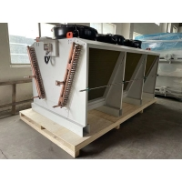 Quality ROHS Refrigeration Equipment Air Condenser Cooler For Hybrid Cold Storage for sale
