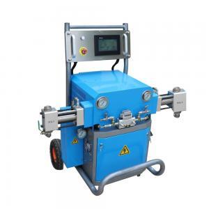 Quality Hydraulic Polyurethane Foam / Polyurea Spray Machine coating and close cell polyurethane spray foam machine for sale