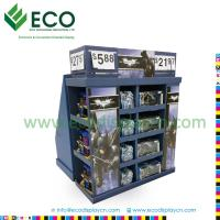 Buy cheap Four Sided Playing Card Display Case with Corrugated Material, Plastic Toy Display Shelf from wholesalers