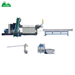China 180kg/H PET 37kw Plastic Pelletizing Machine for sale