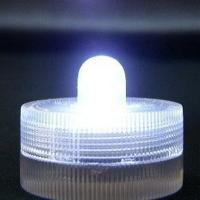 China Bright Mini Led Flameless Flickering Tea Lights Anti - Water With Twist Control on sale