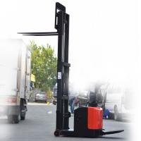 Electric forklift electric reach stacker with lift height 3000mm