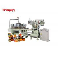 Quality Metal Beverage Can Filling Line Canned Fruit Production Line CE Certification for sale