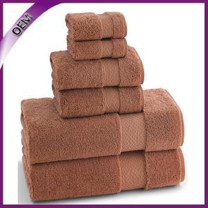 Quality 3PC Cotton Bath Towel Sets Beach Towels & Hand Towel & Face Towel for sale