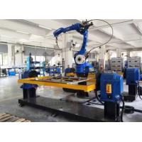 Buy Head Tail Stock Rotary Welding Positioner Robot Servo Motor 500Kg 360mm Table at wholesale prices