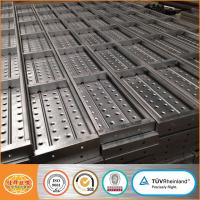 China metal scaffold plank with hooks /scaffolding frame accessory steel plank /scaffold plank deck metal planks on sale