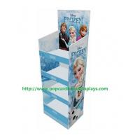 Best 4 Tier Advertising Small Floor Cardboard Display Boxes For Daily Necessities wholesale