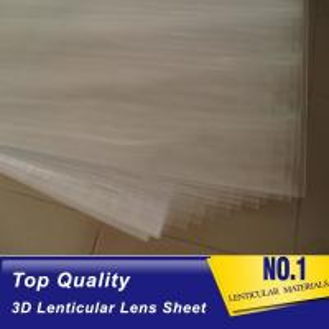 Quality 100lpi 0.58mm PET lenticular sheet  lens plastic film lenticular printing sheet lenticular sheet importer in usa for sale