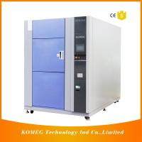 China PCB and LED Resistance Cold Heat Shock Test Chamber Specifications Touch Screen Control on sale