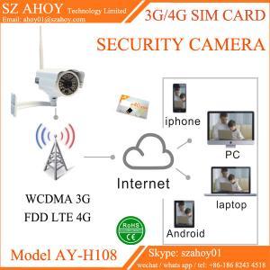 China 3G 4G sim card ip cctv security camera on sale