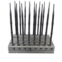 Quality OEM 16 Bands Signal Blocker Cell Phone WIFI GPS VHF UHF Remote Control Signal Jammer for sale