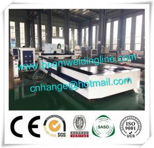 Quality Fiber Laser Cutting Machine 1000w Cut Sheet Metal , CNC Plasma Cutting Machine For Plate for sale