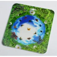 Quality OK3D 3D flip morph zoom animation explosion twist compress rotation zig zag lenticular printing mouse pads for promotion for sale