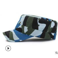 Quality 100% Cotton Military Camouflage Cap , Army Military Hats 57CM Size for sale
