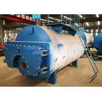 Quality 5 Ton Oil Fired Combi Boiler , 3 Pass Wet Back Steam Boiler For Palm Oil Production for sale