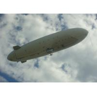 China Custom PVC Material Small  Blimp Shape Balloon , Large Advertising Blimp Helium Blimp on sale