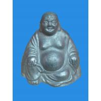 China Varnishing / Etch / Polished Stainless Steel Metal Craft - Buddha Crafts Eco - Friendly on sale