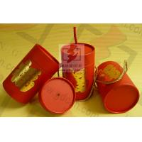 Quality Wedding Gift Large Diameter Cardboard Tube Packaging With Ribbon for sale