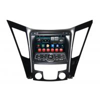Quality Dual Zone Sonata 2013 HYUNDAI DVD Player with Android 4.1 OS , 1024 x 600px Touch screen for sale