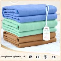 Quality bedroom using double polyester electric heating warm blanket for sale