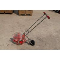 Quality Portable Small Gardening Machines Manual Maize Seeder Power Coating Surface for sale
