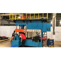 Stable Elbow Cold Forming Machine , Centralized Control Elbow Beveling Machine