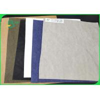 Quality 30 Colors 150CM Width Fabic Pulp Washable Kraft Paper For DIY Bags And Packing for sale