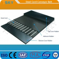 China ST Series ST2500 Steel Cord Conveyor Belt for sale