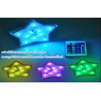 Buy cheap Color Changing Battery Operated El Products Star Led Lights Remote Control from wholesalers