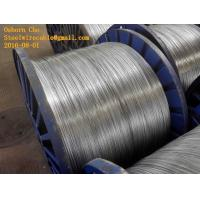 Quality Galvanized Steel Core Wire 3.37mm as per ASTM B 498 with  Steel Drum for sale