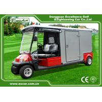 Quality EXCAR A1H2 / EC Emergency Golf Carts With Closed Cargo Bed Aluminum Chassis for sale