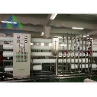 Quality Mobile Water Desalination Unit , Reverse Osmosis Fresh Water Maker 3-11 Feed PH for sale