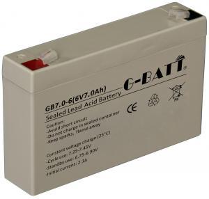 Quality Communication System F250 7ah 6V Lead Acid Battery for sale