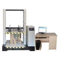 Quality Stroke Protection Paper Testing Instruments / Corrugated Carton Resist Compression Tester for sale