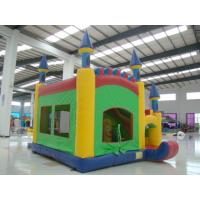 Best Childrern Park / Yard Inflatable Toy Inflatable Castle With Trampoline wholesale