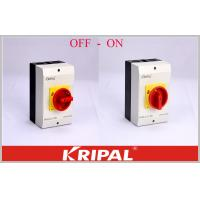 Quality Disconnect Switch Off On 4P 40 Amp Rotary Isolator Switch Semko Good Appearance for sale