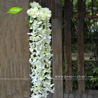 China GNW FLV02 High Quality Artificial Flowers Wisteria Wedding Shelf Hanging Flower Arrangements on sale