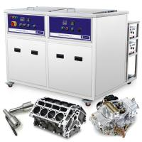 Best aircrafts parts cleaning machine 28KHz Cleaning and Drying dual Ultrasonic Cleaning Tank wholesale