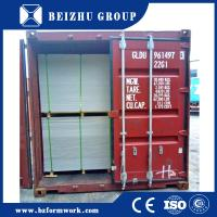 Quality China supply plastic concrete formwork with 60 reusable times pp plastic plywood for sale