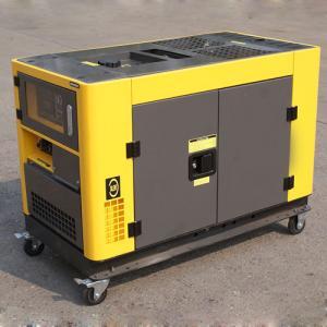 Quality 230V/400V 50Hz Small Portable Diesel Generator , AC 3 Phase mobile diesel generator for sale