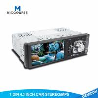 Quality Universal 1 Din Car Stereo With Touch Screen Single Din Mp5 Player for sale