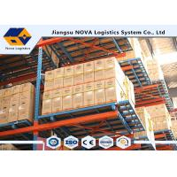 Quality Cold Rolled Steel Adjustable Pallet Racking , Heavy Duty Rack ShelfWith Long Life Span for sale