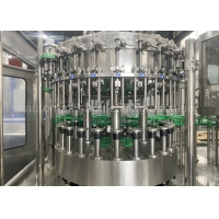 Quality SGS 6000BPH Glass Bottle Soda Filling Machine For Sparkling Water for sale