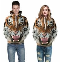 Quality High qualit Sublimation Man/Women 3d Sweatshirts Print Paisley Flowers Lion Hoody Autumn Winter Thin Hooded PulloversTop for sale