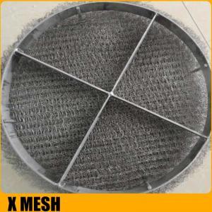 China Anti-Corrosion Knitted Wire Mesh/Mesh Mist Eliminator /  Stainless Steel YORK MESH Demister Mist Eliminator on sale