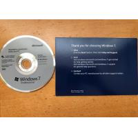 Quality 32/64 Bit Windows 7 Professional Upgrade Retail , Windows 7 Professional CD Activation for sale
