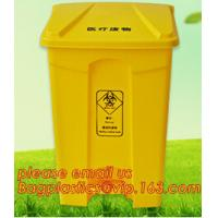 Quality cheap square medical sharp needles disposal sharps container, sharps disposal container, plastic disposable bin, hospita for sale