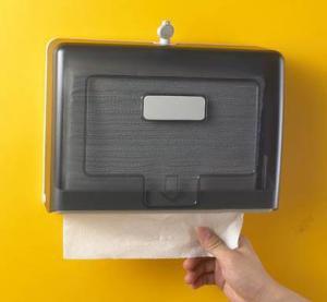 China Hand Towel Dispenser Public Toilet Tissue Dispenser Fold Paper Dispenser on sale