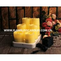 Buy cheap Dripping Wax Wireless Rechargeable Flameless LED Candles from wholesalers